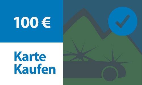 Prepaid Kundenkarte 100 €