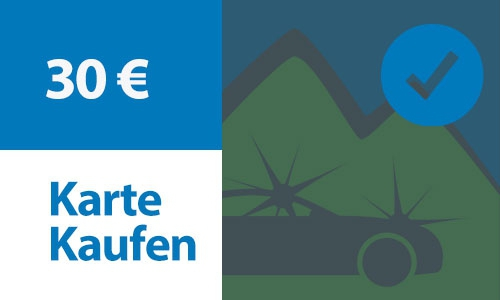 Prepaid Kundenkarte 30 €