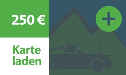Kartenladung 250 €