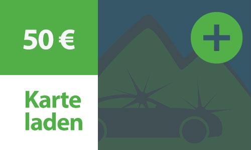 Kartenladung 50 €